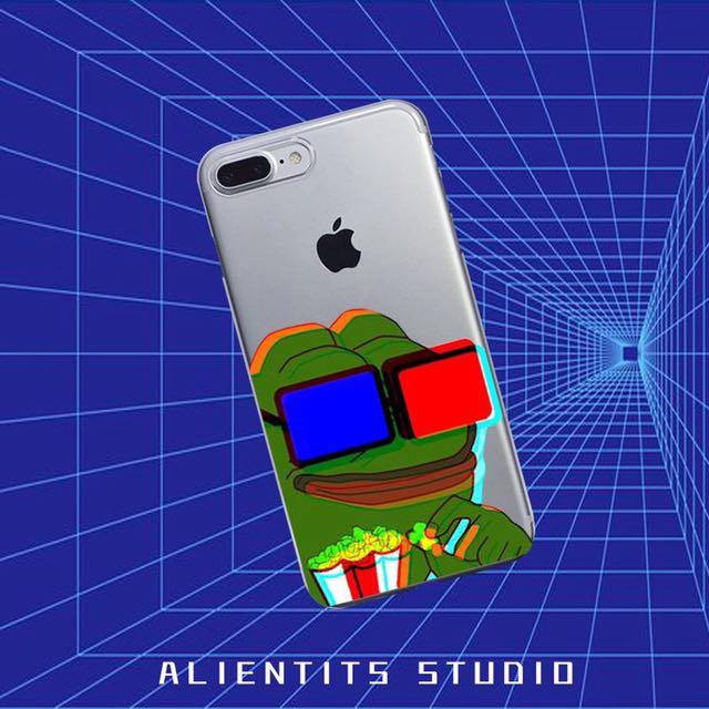 🔎sad frog悲傷蛙透明/磨砂手機殼保護套