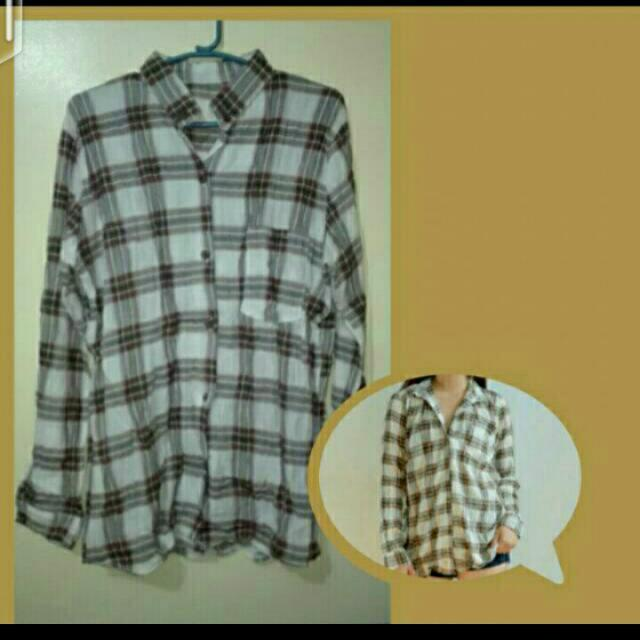 SALE!!! Plaid Polo