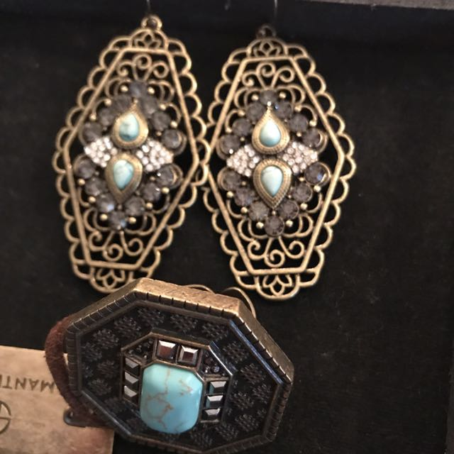 Samantha Wills Jewellery! Earrings And Dress Ring