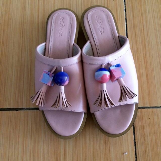Sandal Pink Lucu