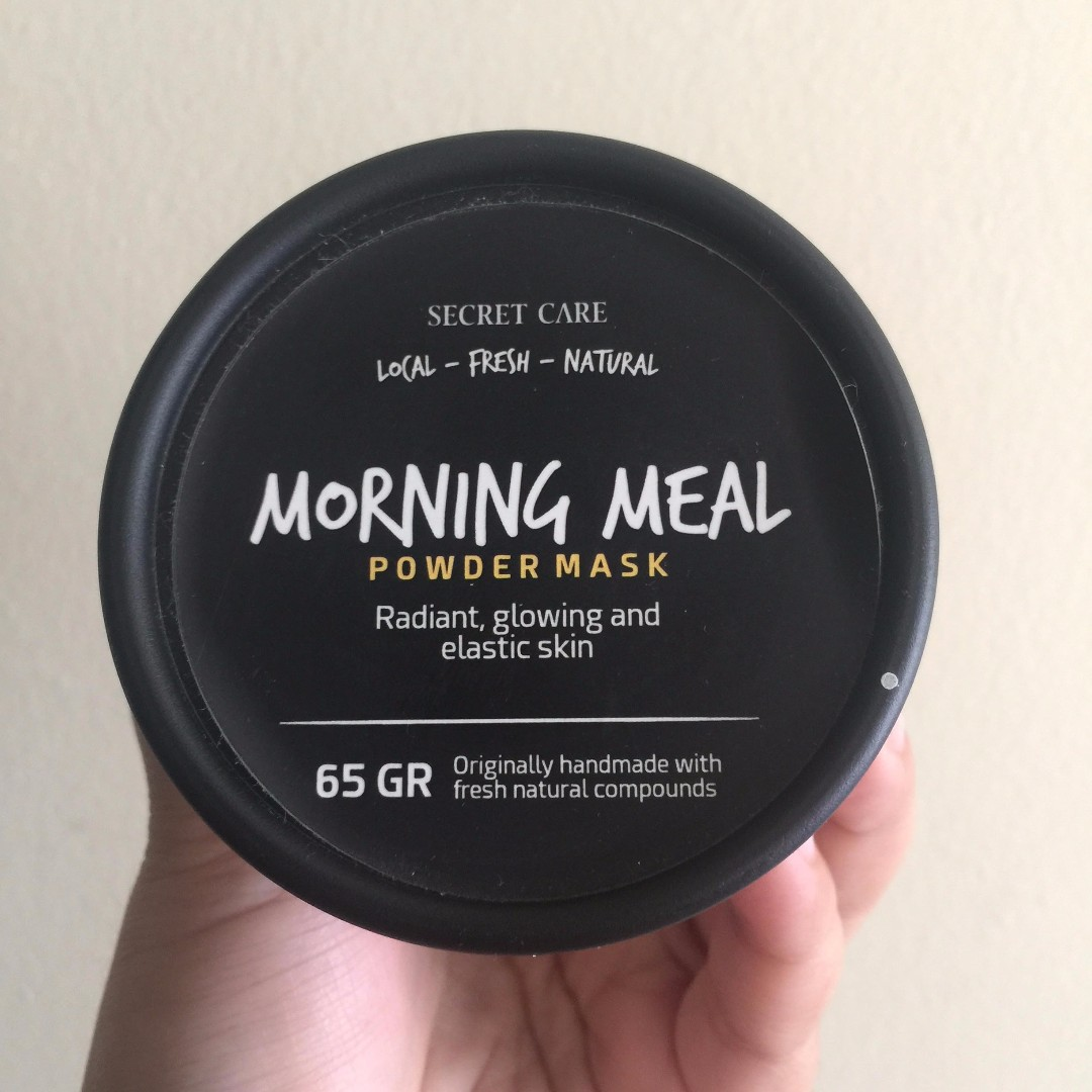 Secret Care Morning Meal Powder Mask