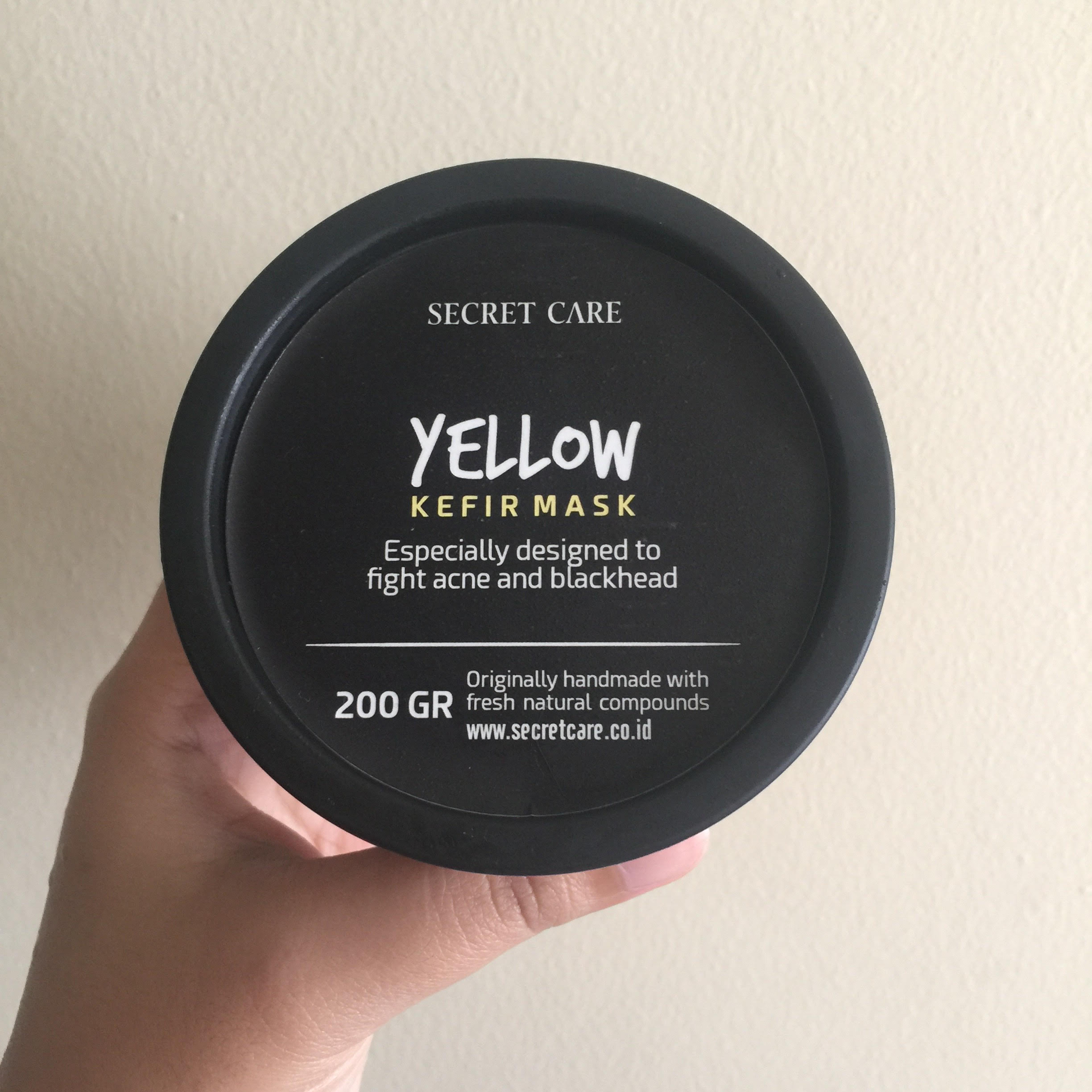 Secret Care Yellow Kefir Mask