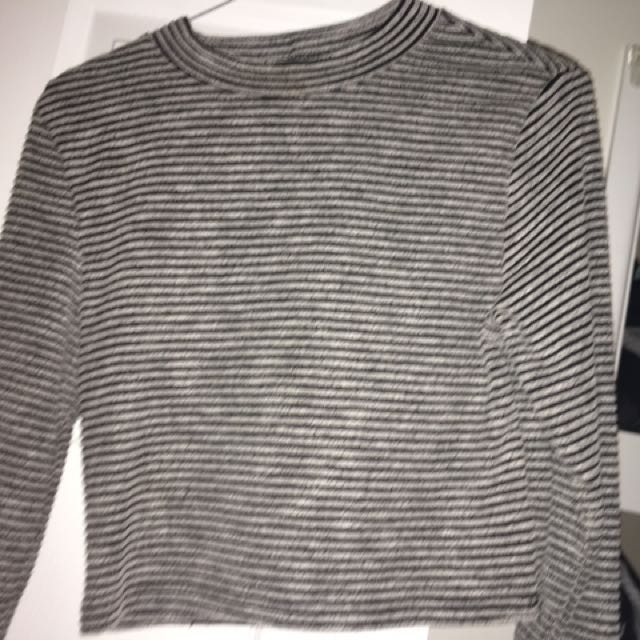 Selling Striped Crop