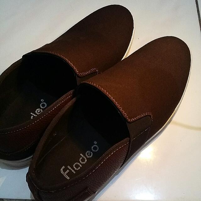 Sepatu Cokelat Fladeo NEW (REPRICE) 250 to 200