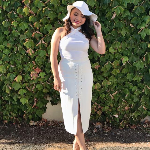 Sheike Lace Up Skirt Size 10