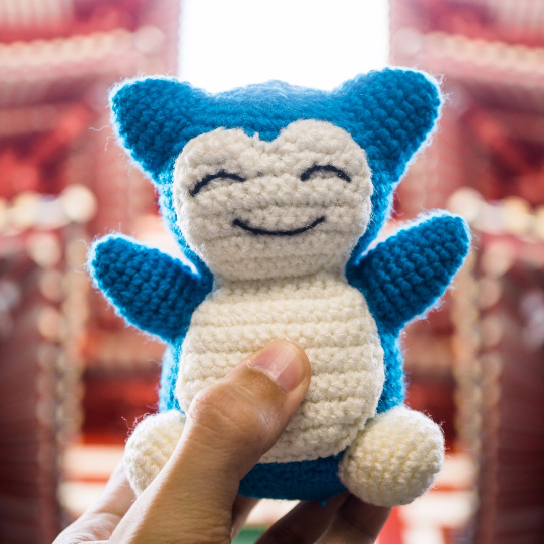 Snorlax from Pokemon Amigurumi