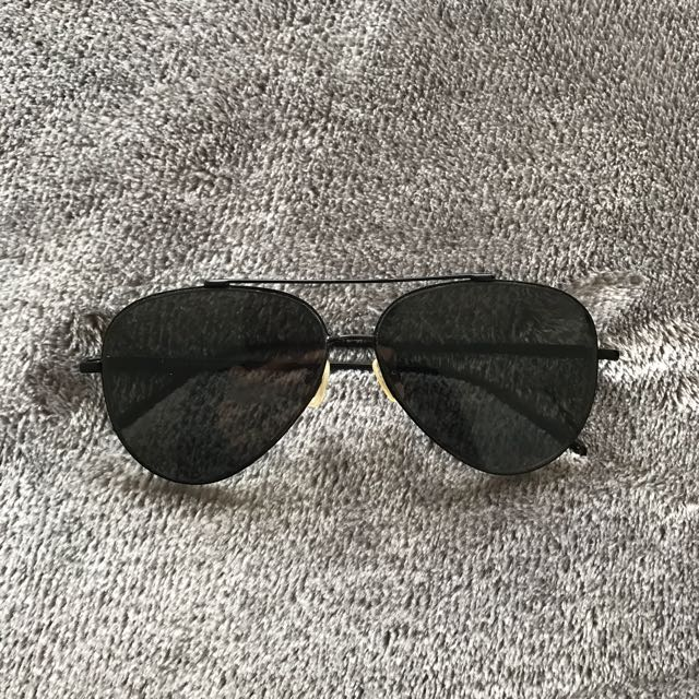 Sportsgirl Black Sunglasses