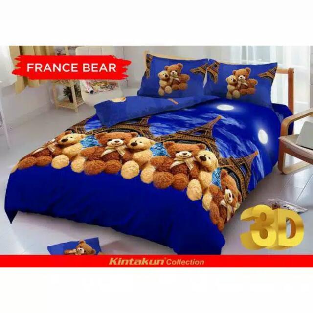 sprei kintakun teddy bear