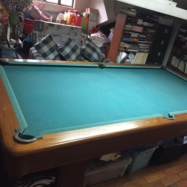 Standard Size Billiards Table