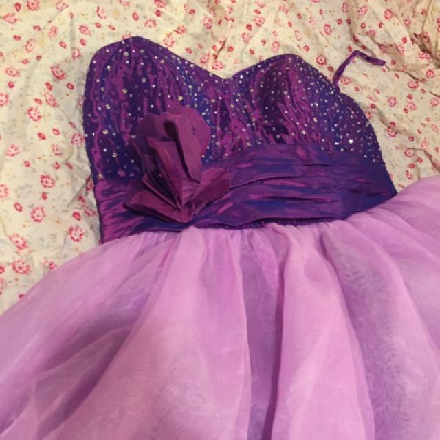 Sz 10 Fairy Formal Dress
