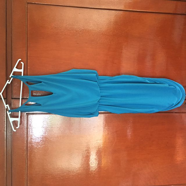 Tantease Teal Jersey Dress