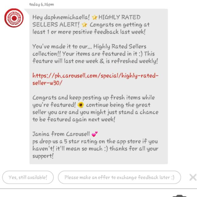 """Another """"THANK YOU"""" CAROUSELL ☺☺☺"""