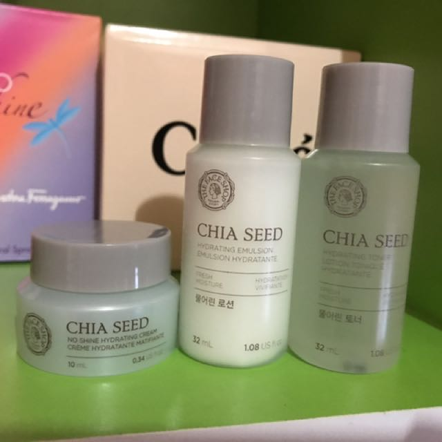 The Faceshop Chia Seed Set