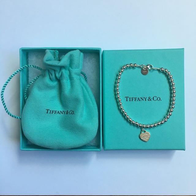 NEW Tiffany & Co 'Return To Tiffany' Bead Bracelet