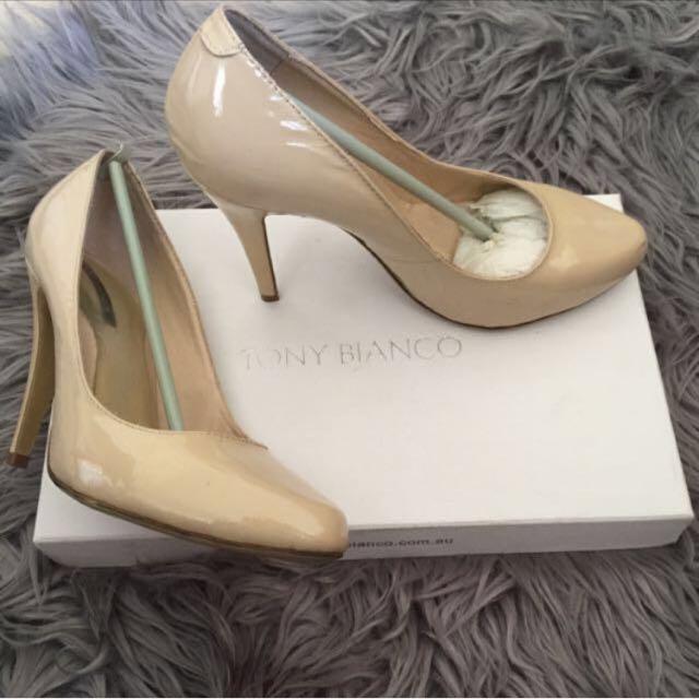 Tony Bianco Nude Heels 👠