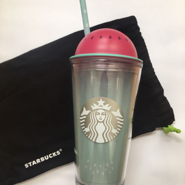Tumbler Starbucks Limited Edition Summer Watermelon Original New Not Available In Indonesia