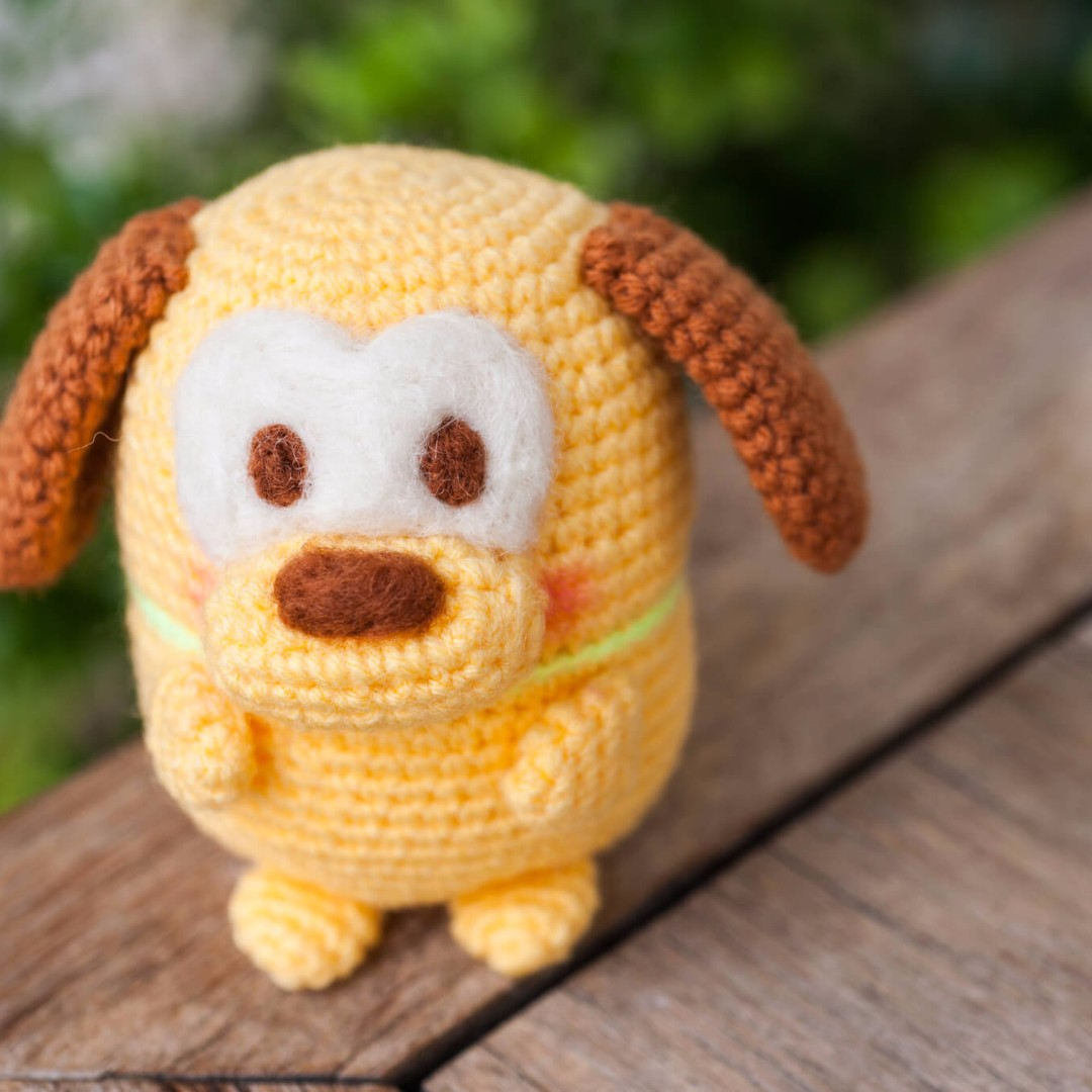 Ufufy Pluto from Disney Amigurumi