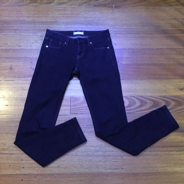 Uniqlo Dark Denim Pants Size 6