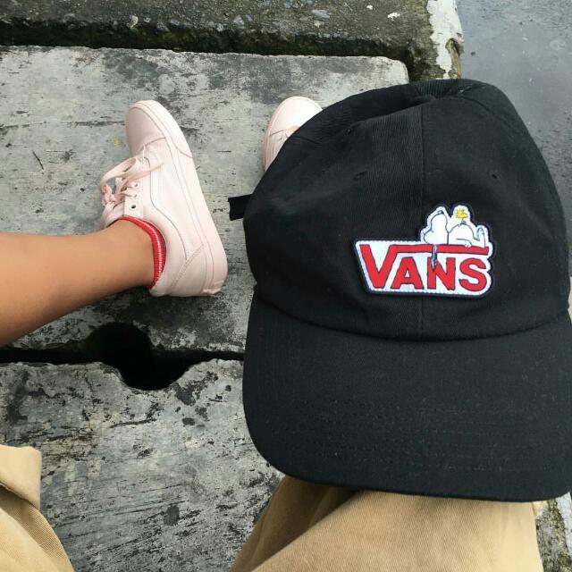 含運Vans Snoopy聯名 彎帽