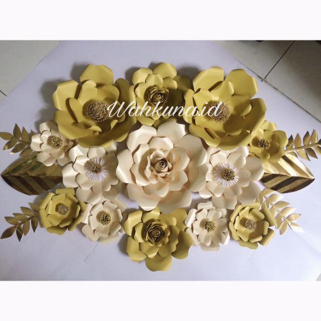 Wahkuna Paper Flower