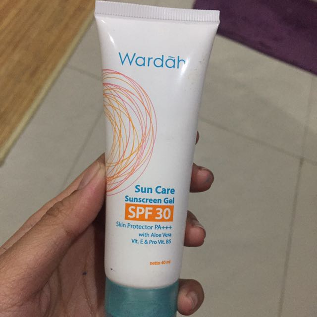 Wardah Suncreen Gel Spf 30