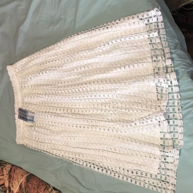 White Layer Skirt