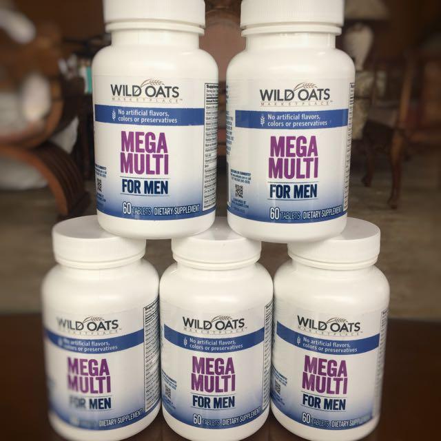 Wild Oats Multi Vitamins For Men