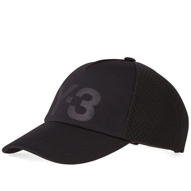 Y-3 CLASSIC TRUCKER CAP 山本耀司 六片帽