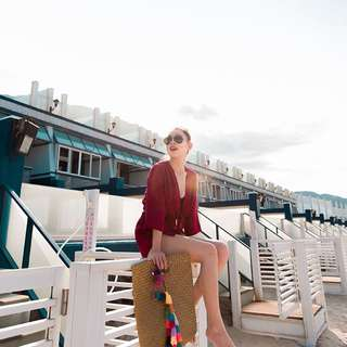 Mercies 度假風兩件式短褲套裝