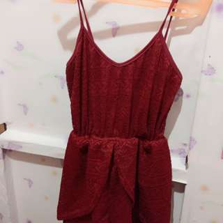 Jumpshort Semi Dress