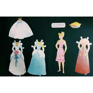 Cinderella Paper Doll Cut-Outs