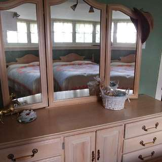 Bedroom vanity & headboard
