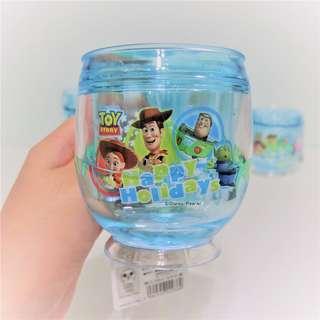 🚚 迪士尼 玩具總動員 漂浮水杯 漱口杯 丸型