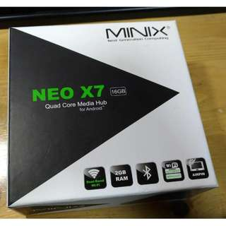 minix neo x7 Android TV Box
