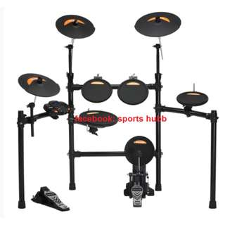Nux Electronic Drum Set Dm2 With FREE Drumthrone