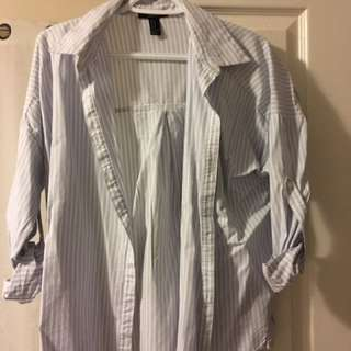 Pinstripe Dress Shirt