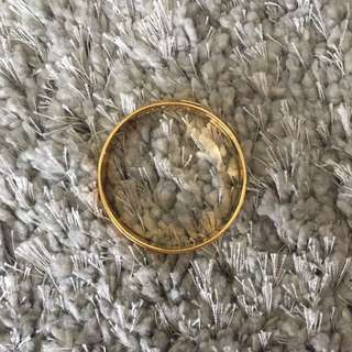 Gold Coach Bangle Bracelet