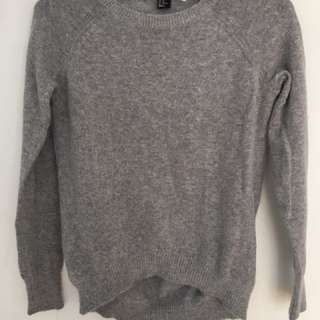 Light Grey Sweater From H&M