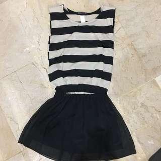 Korean Stripes Dress