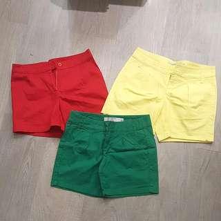 Giordano Colorful Shorts