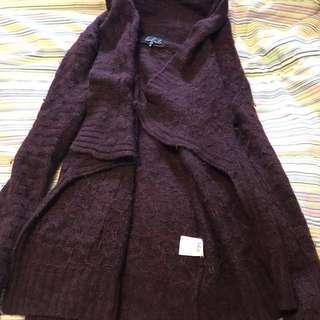 Aritzia Babaton Wool Cardigan Xxs