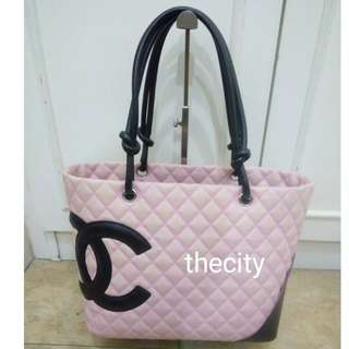 AUTHENTIC CHANEL LARGE CAMBON TOTE