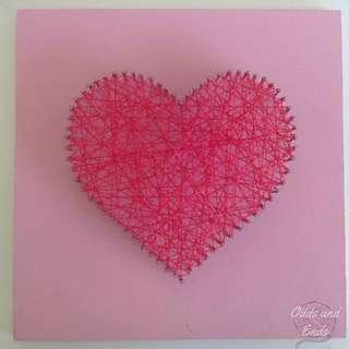 String Art - Heart