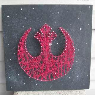 String Art - Star Wars