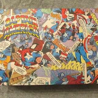 Captain America Comic Book Box