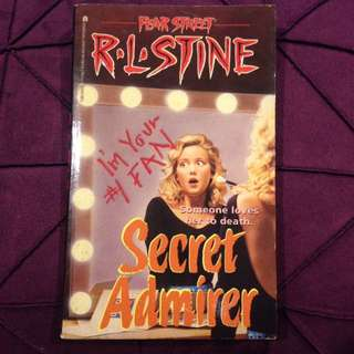 R.L. Stine Fear Street: Secret Admirer
