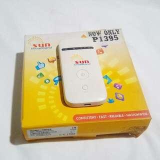 (REPRICED!) RUSH Sun Broadband pocket WiFi