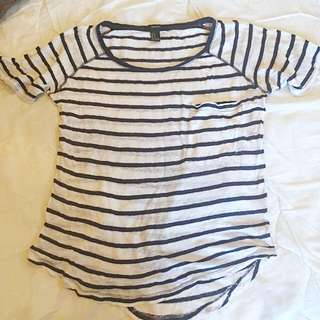 Forever 21 Stripped Shirt