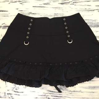 ☆Tripp☆ Corset Lace Ruffle Skirt Small