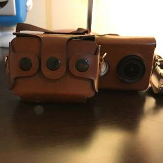 Xiaomiyi action Camera Leather Case - NEW